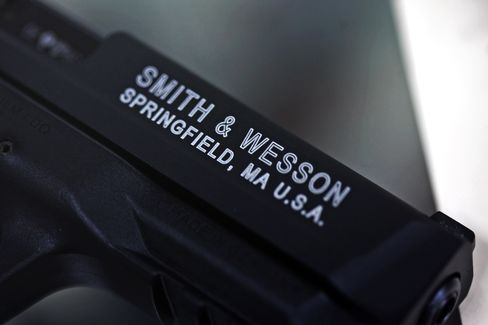 A Smith & Wesson Pistol