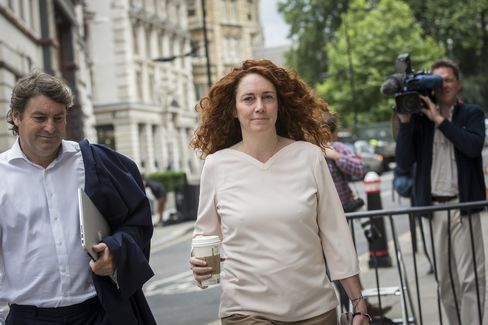 Former Head of News Corp.'s U.K. Publishing Unit Rebekah Brooks