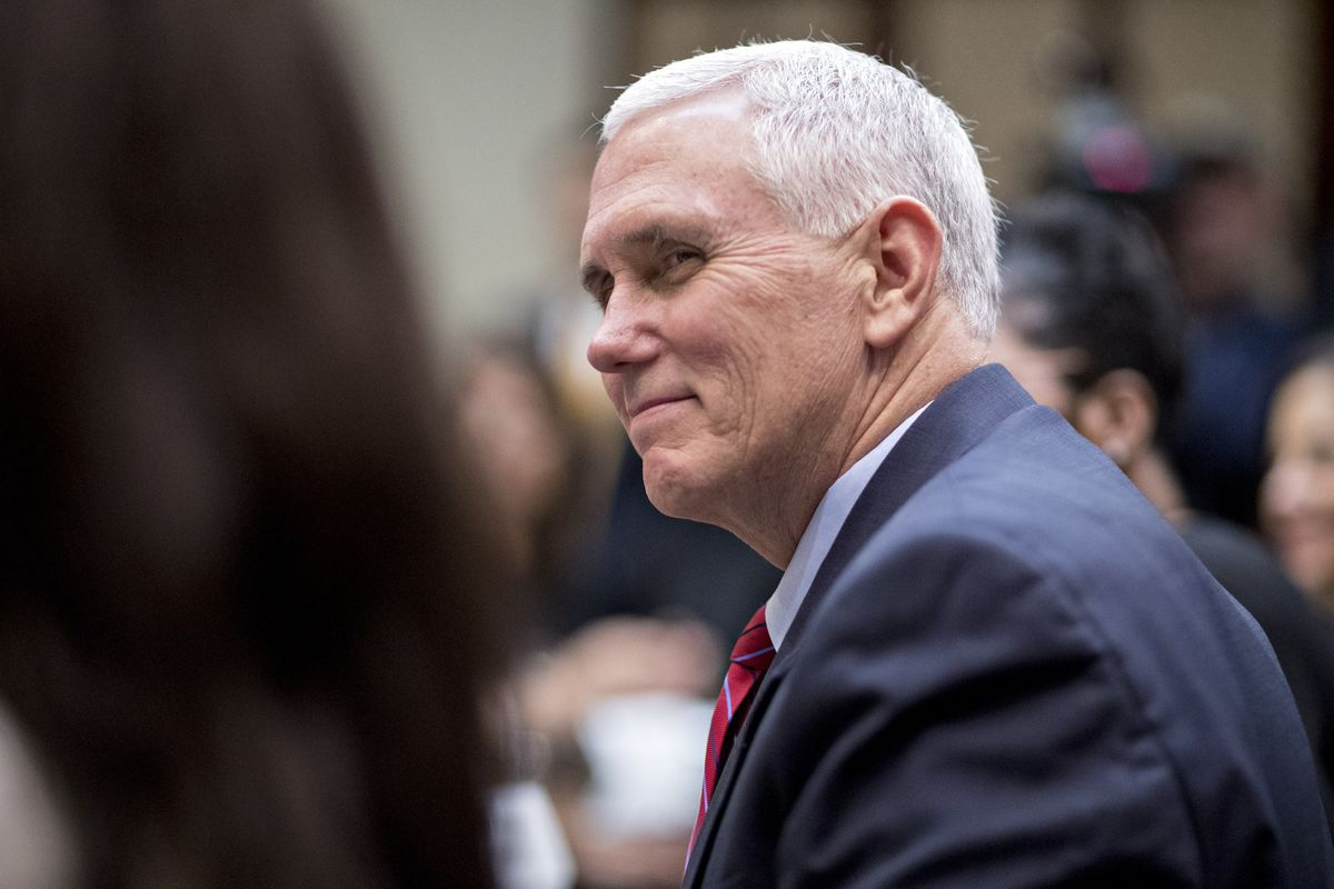 Pence Stays Silent on Alabama's Moore in Rare Break From Trump