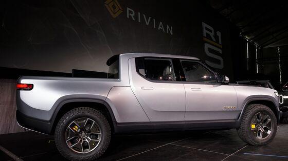 Electric Truck Maker Rivian OpeningShowroom in Brooklyn