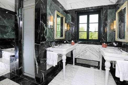 One of the house's seven bathrooms.