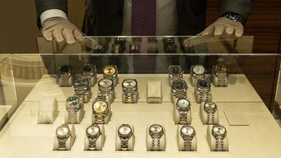 U.K.'s Largest Rolex Retailer Lifts Forecast as Demand Improves