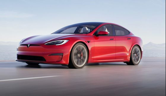 Musk Shows Off Tesla's Fastest Car Yet, the Model S Plaid