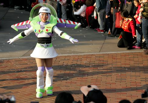 Toy Story Helps Hong Kong Disneyland Swing to First Profit