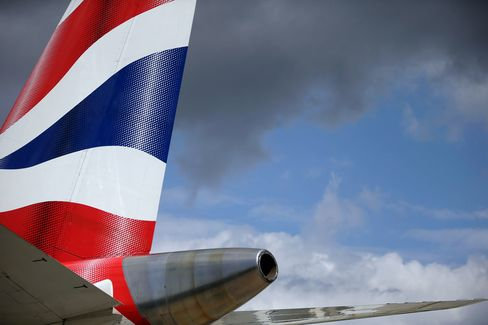 British Airways has scrapped flights through Jan. 14.