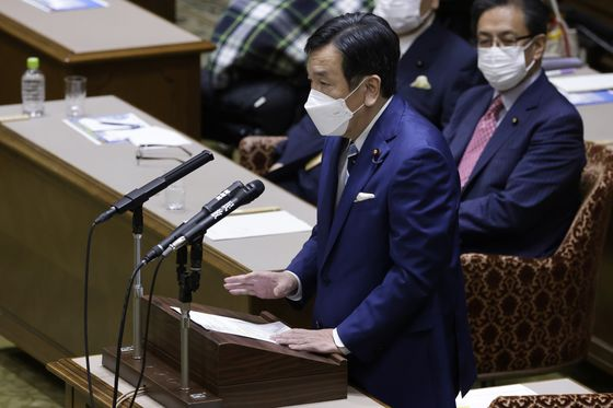 Tokyo Olympics Should Shun Foreign VIPs, Opposition Leader Says
