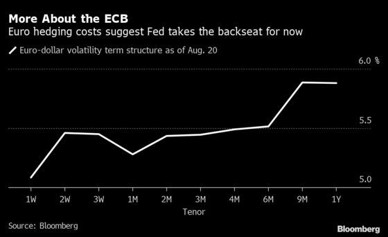 Euro's Volatility Kink Shows Traders Fixated on Homegrown Risks
