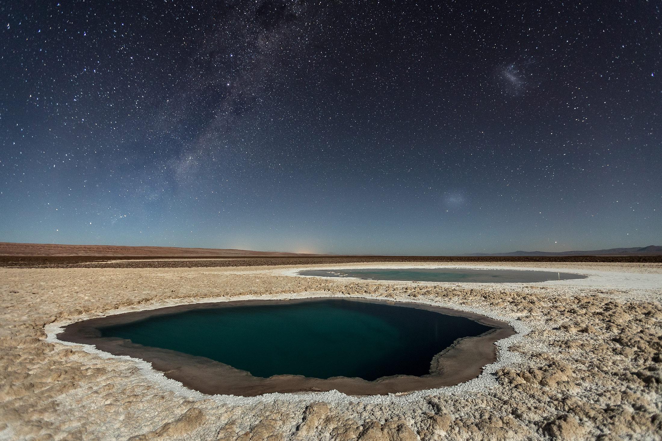 Nature Third Place: Lagunas Baltinache (Atacama Desert)