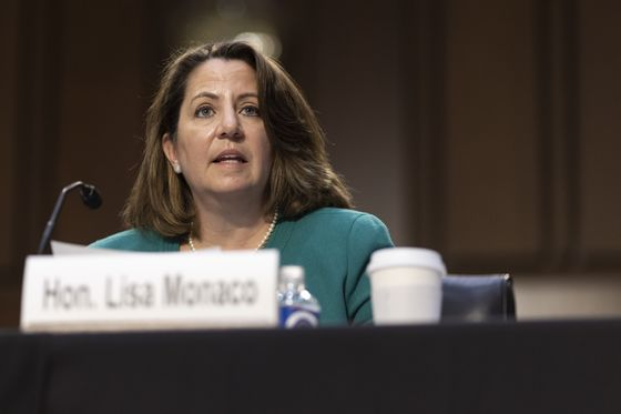 Biden Pick Lisa Monaco Wins Senate Confirmation for No. 2 at DOJ