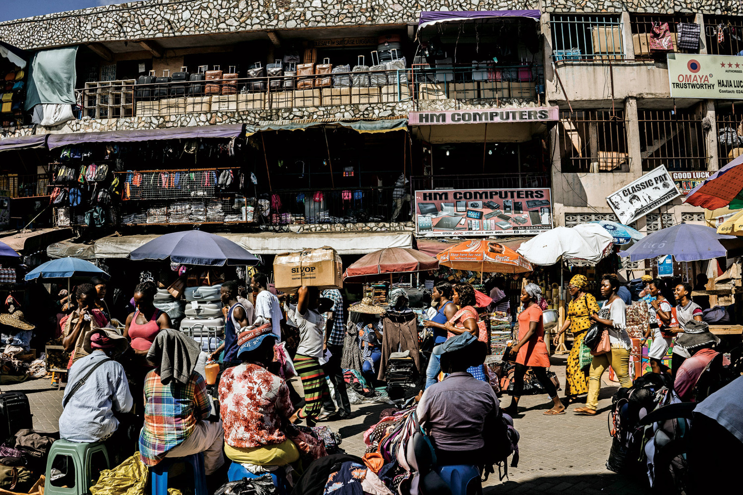Many Ghanaians shop for pills in open-air markets, where the fake may be indistinguishable from the real.