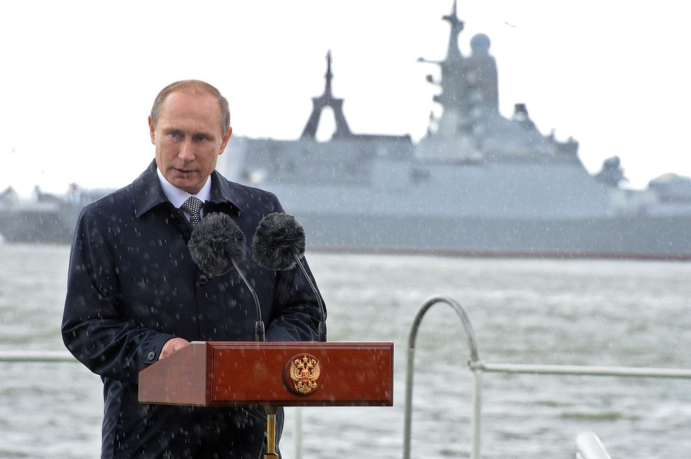 Putin's Big Military Buildup Is Behind NATO Lines