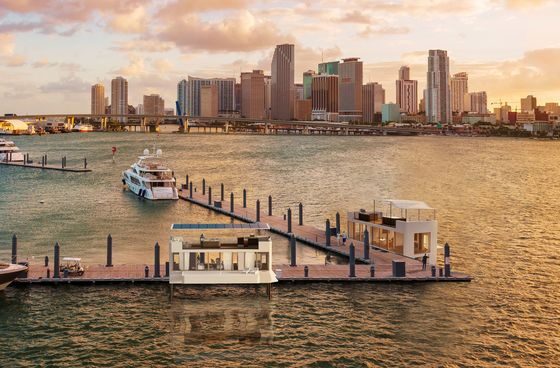 Miami's Hottest New Address Is a House Floating Out on the Water