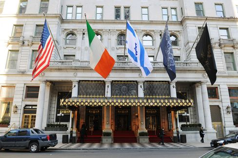 The Plaza Hotel in New York.