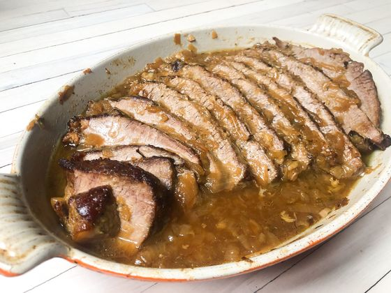 Give Brisket the French Onion Soup Treatment for a DecadentPassover