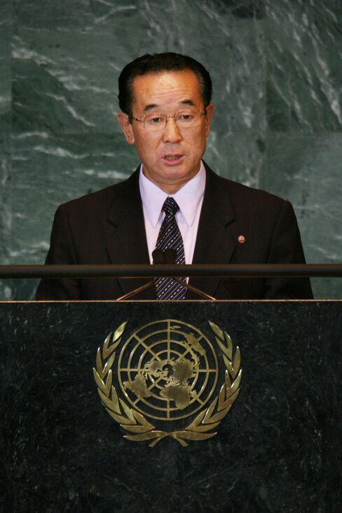 North Korea's Vice Foreign Minister Pak Kil Yon