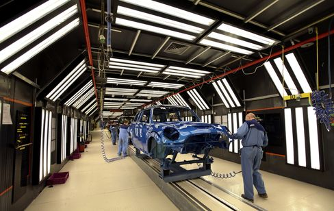 Europe, China Manufacturing Drops on Impact of Crisis