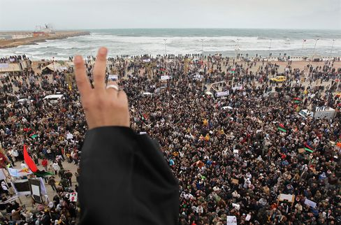 U.S. Imposing Sanctions on Libya, Shutting Down Embassy