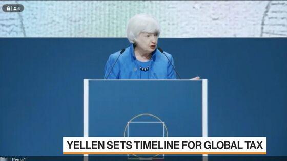Yellen to Press Europe on Digital Tax Plan Following G-20 Accord