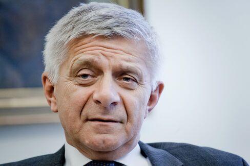 Poland's Central Bank Governor Marek Belka