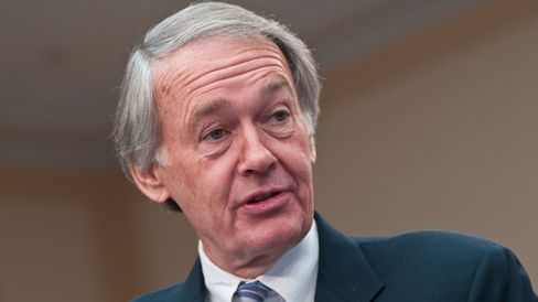 Edward Markey speaks during a Congressional Briefing on Protecting Children and Teen Online Privacy at the Rayburn House Office Building on March 7, 2012 in Washington, DC.