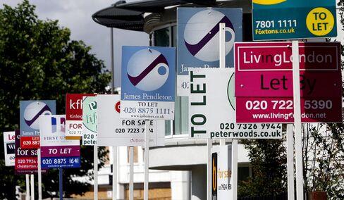 London Leads U.K. Rents Record High in 'Landlords' Market'