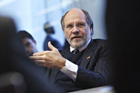 Corzine Steak Dinner Speech Gave No Hint