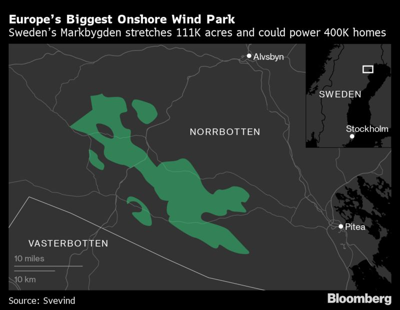 Europe's Biggest Onshore Wind Park