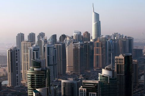 Dubai Space Squeeze Amid Empty Towers Sparks Tallest Office Plan