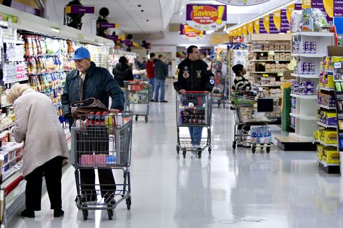 Customers Shop Inside a Royal Ahold NV Stop & Shop Supermarket