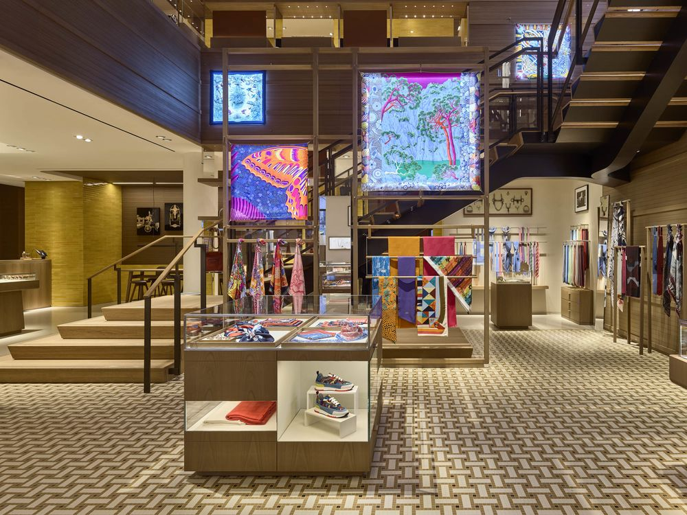 decor nyc design and decor stores we love meatpacking district Sidestepping Hudson Yards, Hermès Opens a New Kind of Shop in New York