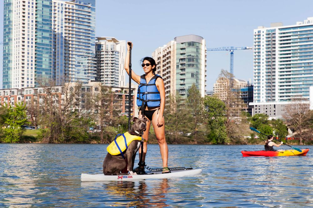 9be2a5b571 Stand-Up Paddleboarding (aka Surfing for the Lazy) - Bloomberg