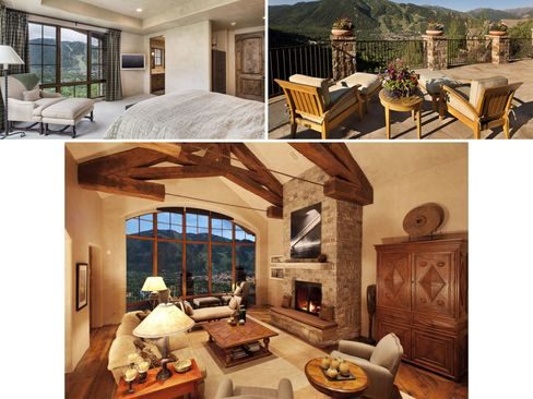 A five-bedroom in the Colorado Rockies.