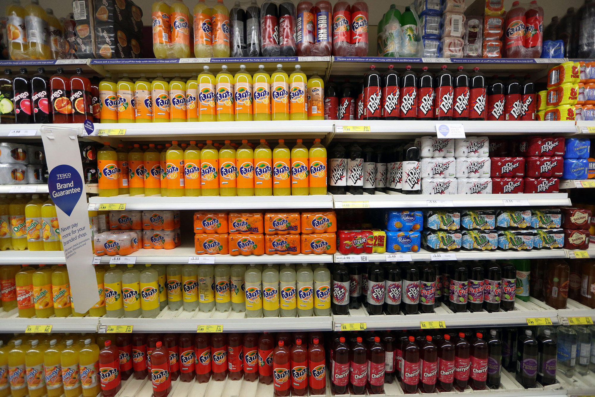 Tesco Reduces Sugar In Soft Drinks Ahead Of U K S Planned