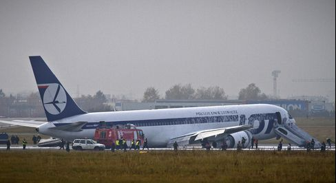 Warsaw Airport Closed After LOT Pilot Crash Lands Airplane