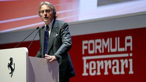 Ferrari Chairman Luca Cordero di Montezemolo