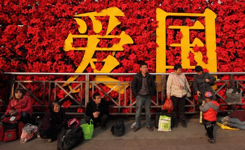 Foreigners Push China Calls to Record as Locals Flee