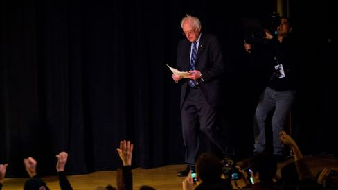 Presidential Candidate Bernie Sanders Wall Street Reform Policy Speech