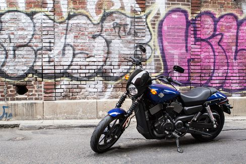 The 2016 Harley-Davidson Street 750 costs $7,549 at base price.