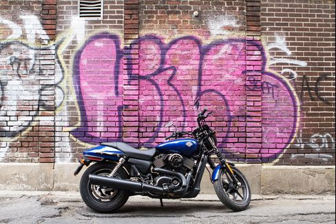 The 2016 Harley-Davidson Street 750 is the larger of the two models in the Street series.