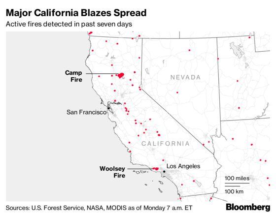Back-to-Back Billion-Dollar Wildfires Threaten Utilities