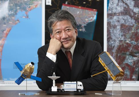 Pasco Corp. President Yoichi Sugimoto