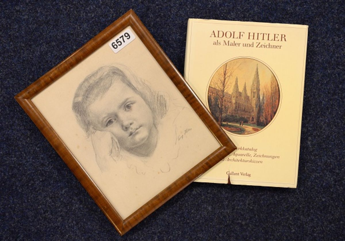 Germany Should Buy Hitler's Artwork