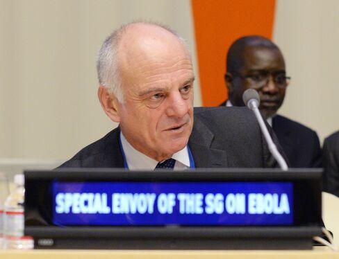 Ebola Envoy David Nabarro