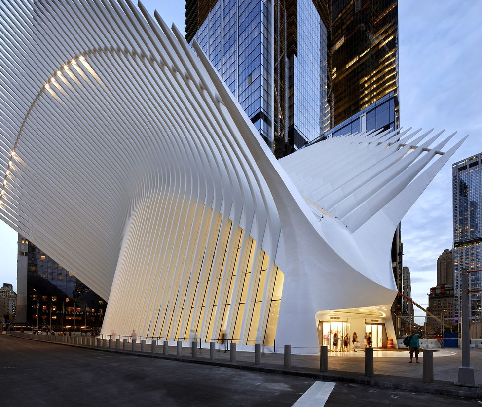 What to Do at Oculus World Trade Center Mall: Food Not Fashion