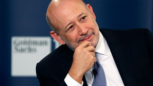 Lloyd Blankfein, chief executive officer of Goldman Sachs Group Inc.