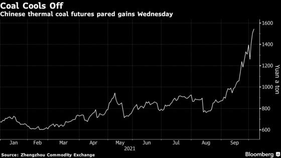 Coal Rises to Record in China as Floods Keep Supply Tight