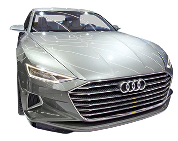 Audi's driverless A7 concept model, shown at the 2015 Consumer Electronics Show, will likely be tested on M City's streets.