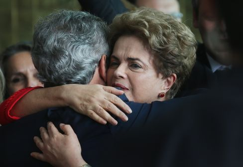 Brazil Lawmakers Vote To Impeach President Dilma Rousseff