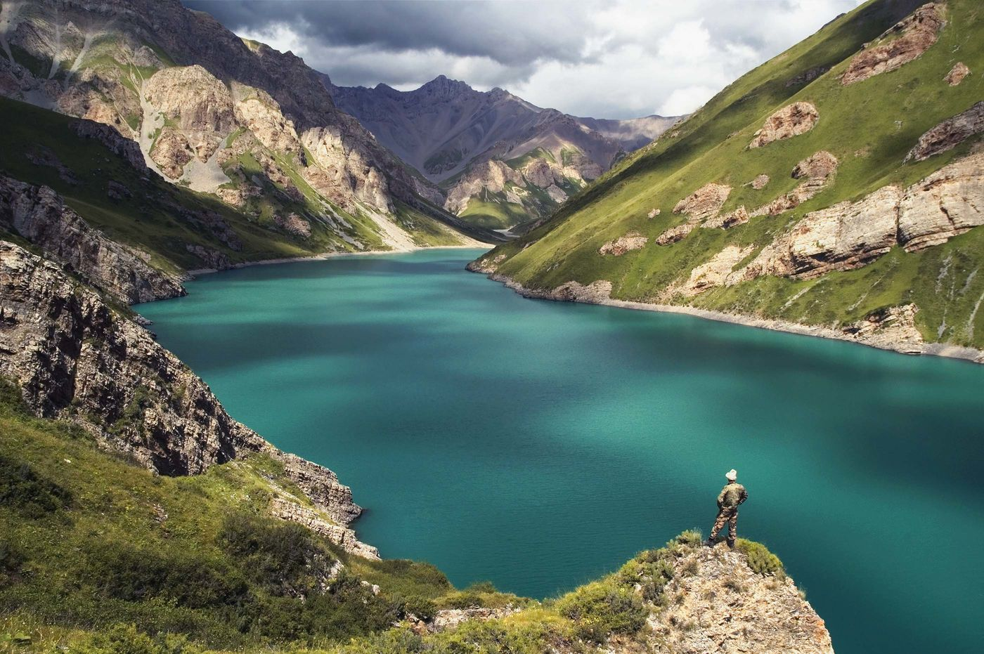 Kol Tor Lake, in northern Kyrgyzstan