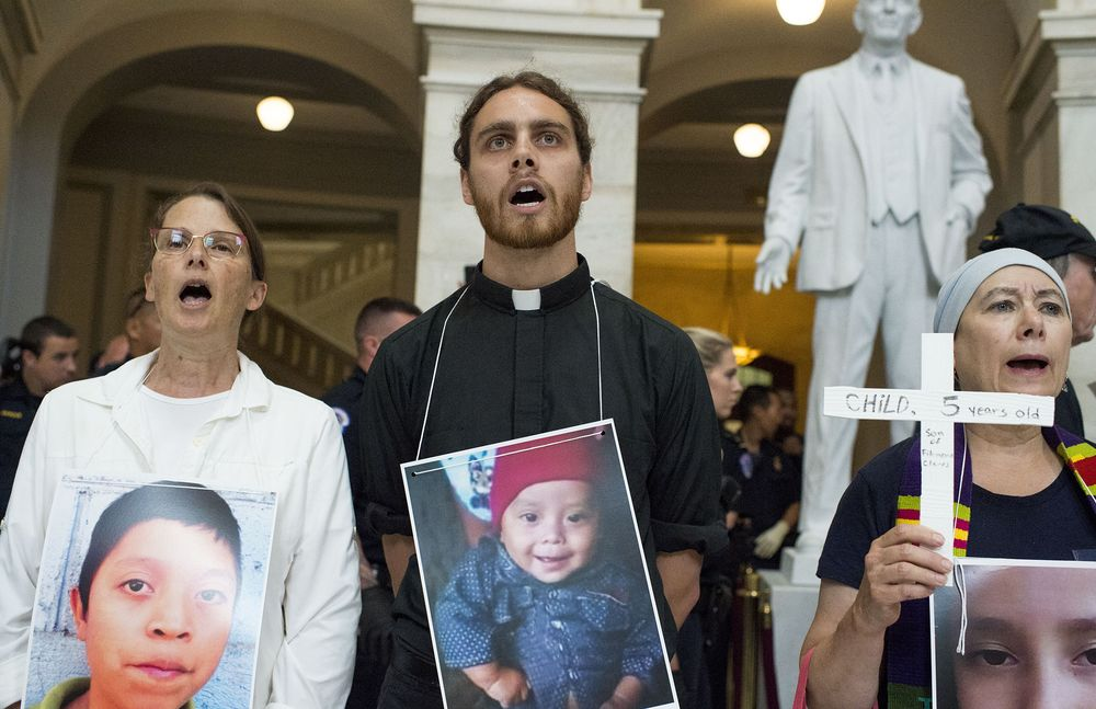 70 Catholics, Including Clergy, Arrested in D.C. Protest Over Migrant Treatment